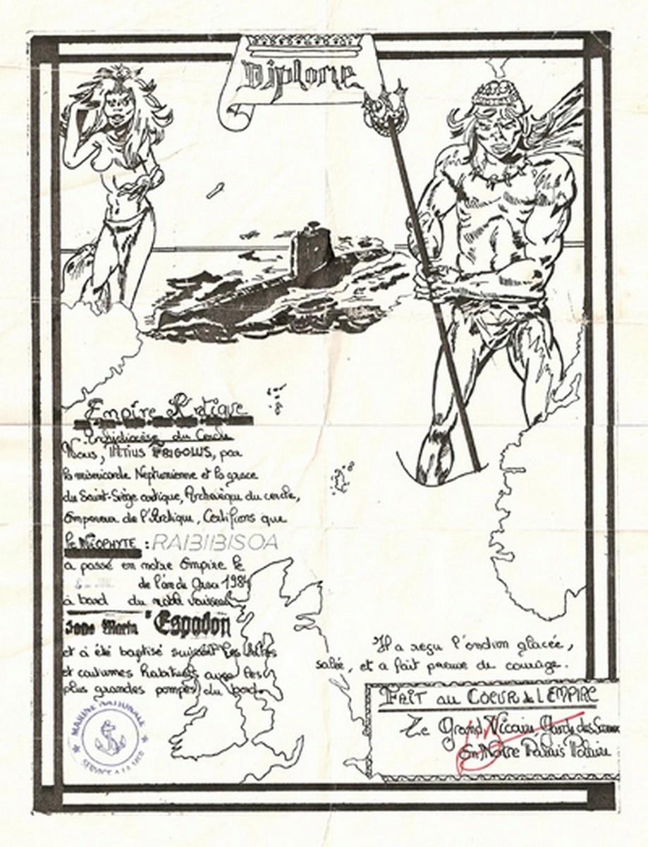bapteme du cercle polaire - [Les traditions dans la Marine] Passage du cercle polaire (Sujet unique) 0157