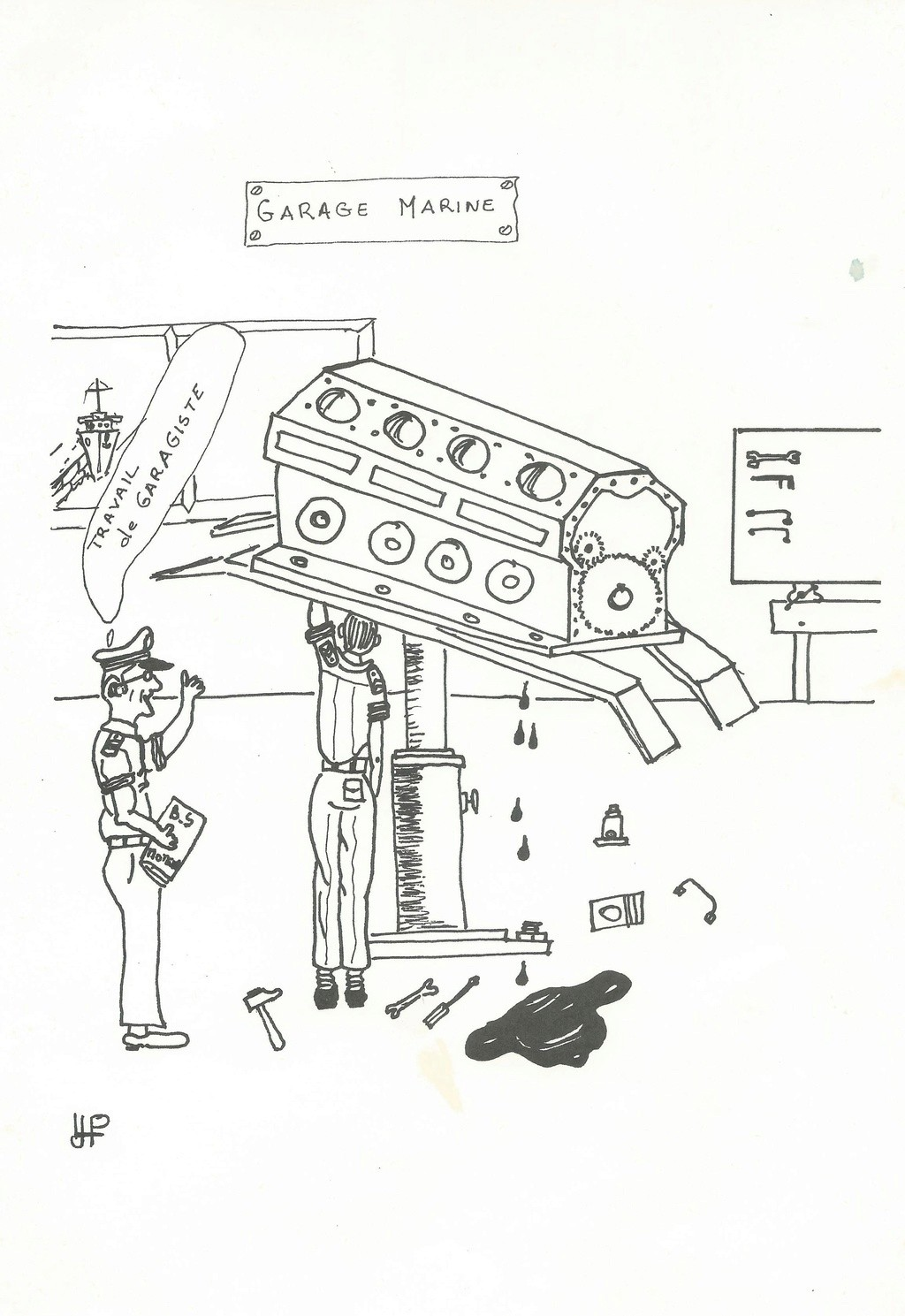 [DIVERS - ÉCOLES DE SPÉCIALITÉS]BS mecan Automne 80-81 1911