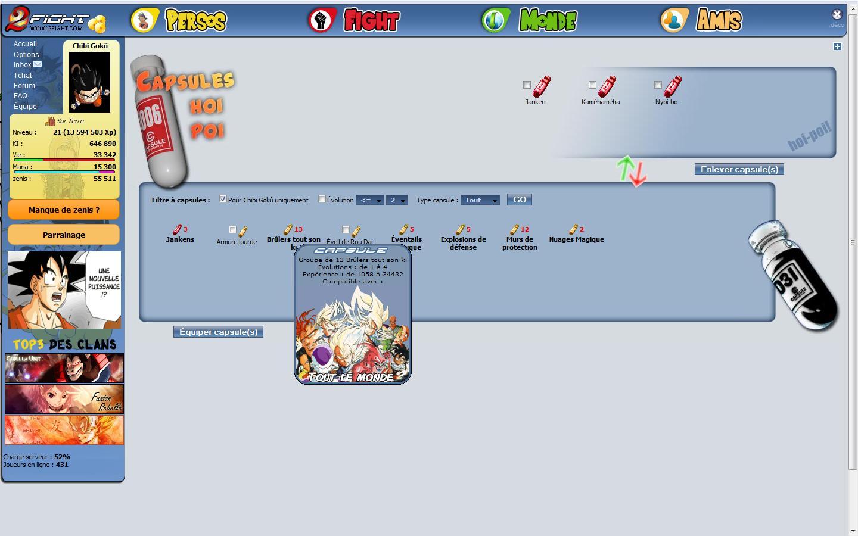 MMORPG DB/DBZ Capsul10