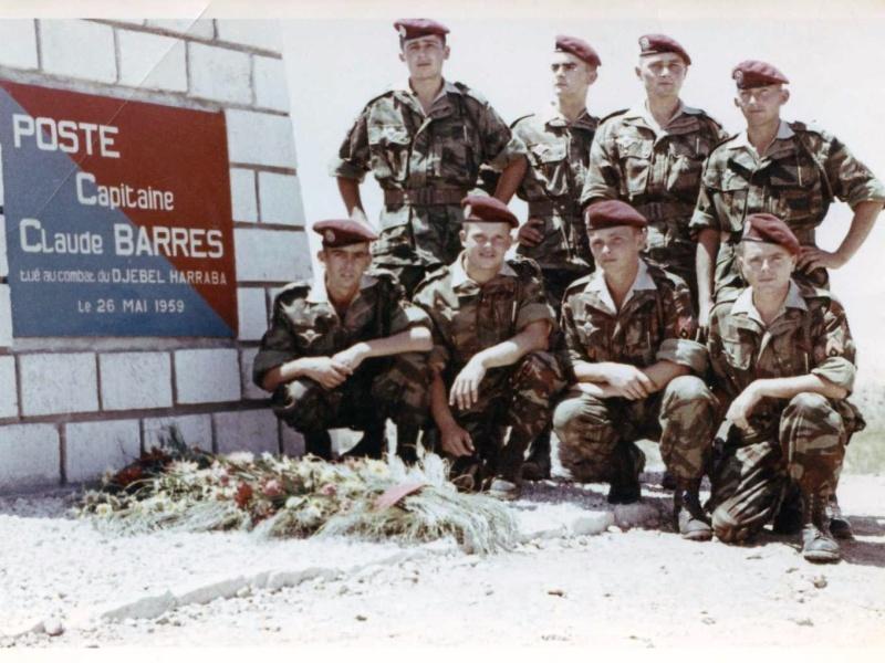 BARRES Claude capitaine 9e RCP Mort au Champ d'Honneur 26 mai 1959 Algérie  Img01010