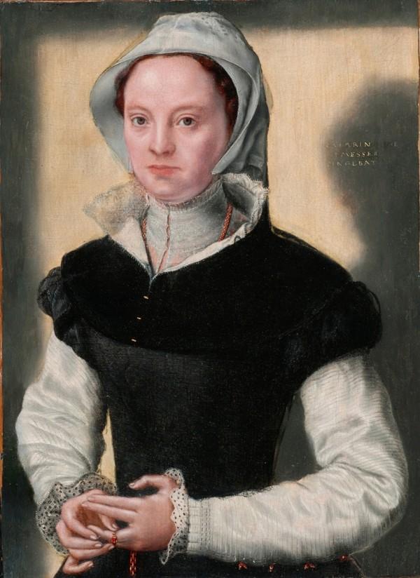 Tentative de retrouver un tableau d'après un dessin de femme au turban 15819310