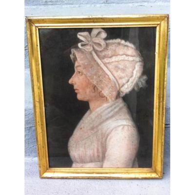 Tentative de retrouver un tableau d'après un dessin de femme au turban 17016110
