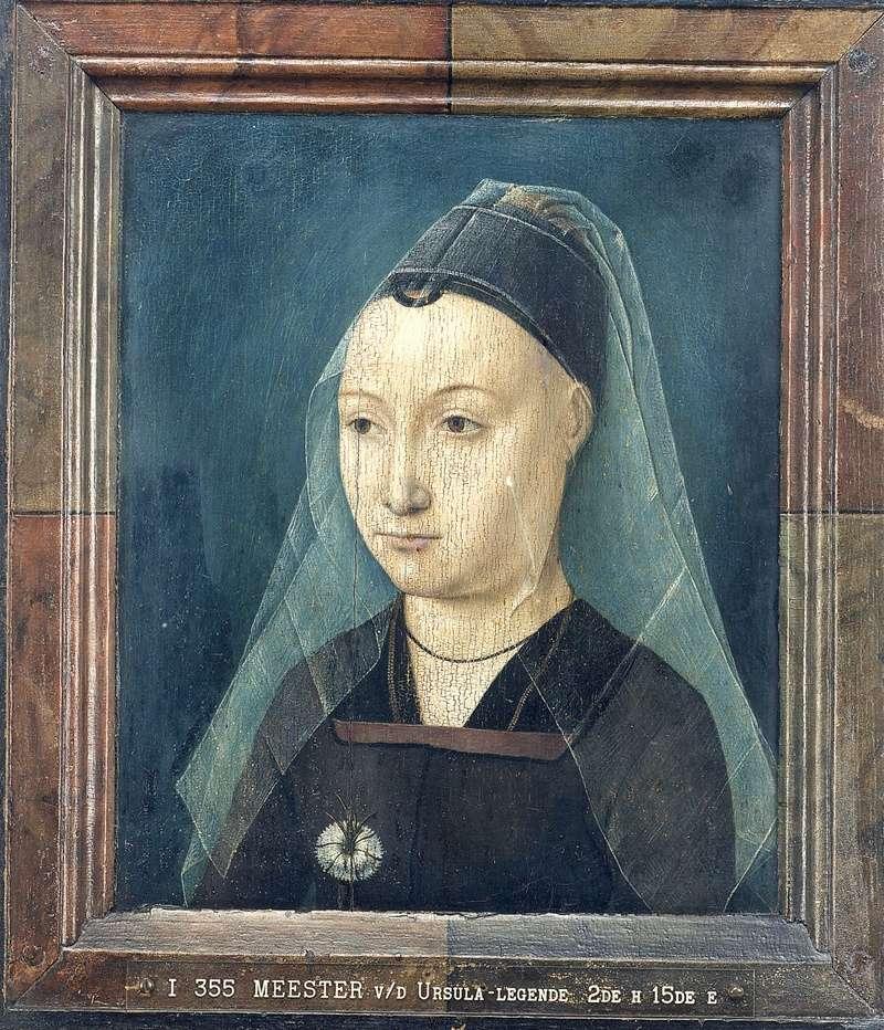 Tentative de retrouver un tableau d'après un dessin de femme au turban Fig41010