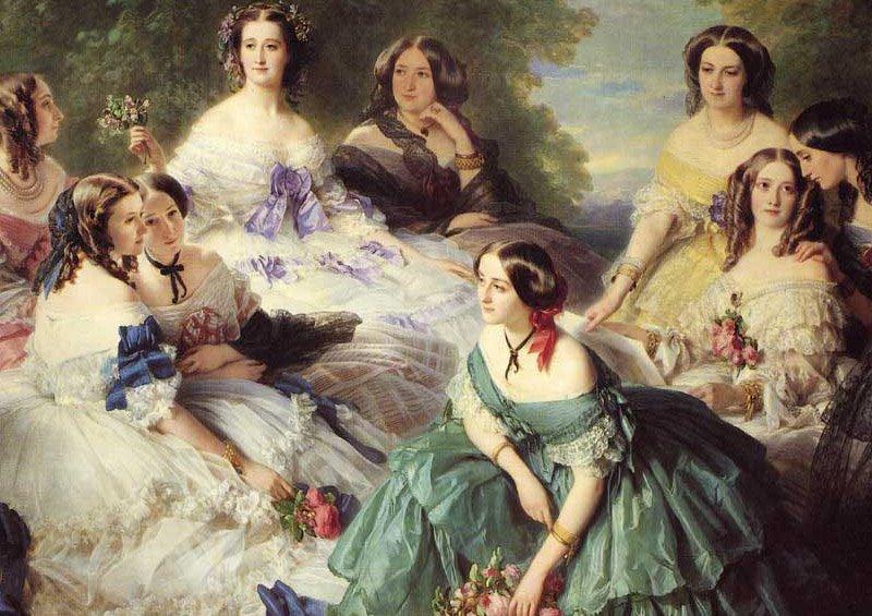 Tentative de retrouver un tableau d'après un portrait de femme renaissance Franz210