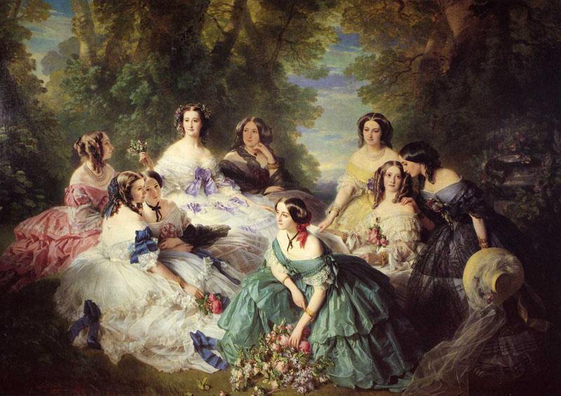 Tentative de retrouver un tableau d'après un portrait de femme renaissance Franz211
