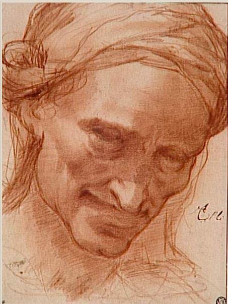 Tentative de retrouver un tableau d'après un dessin de femme au turban Lodovi10