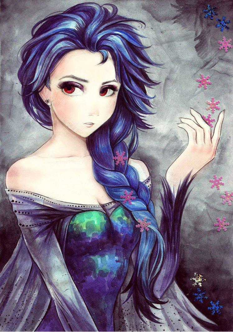 Elsa Arendelle Dark_e10