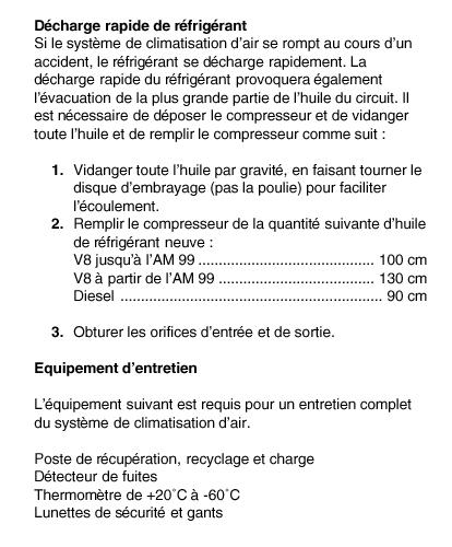 info pour gaz clim Clim10