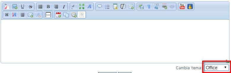 [aggiornamento] Cambia tema all'editor  Office10