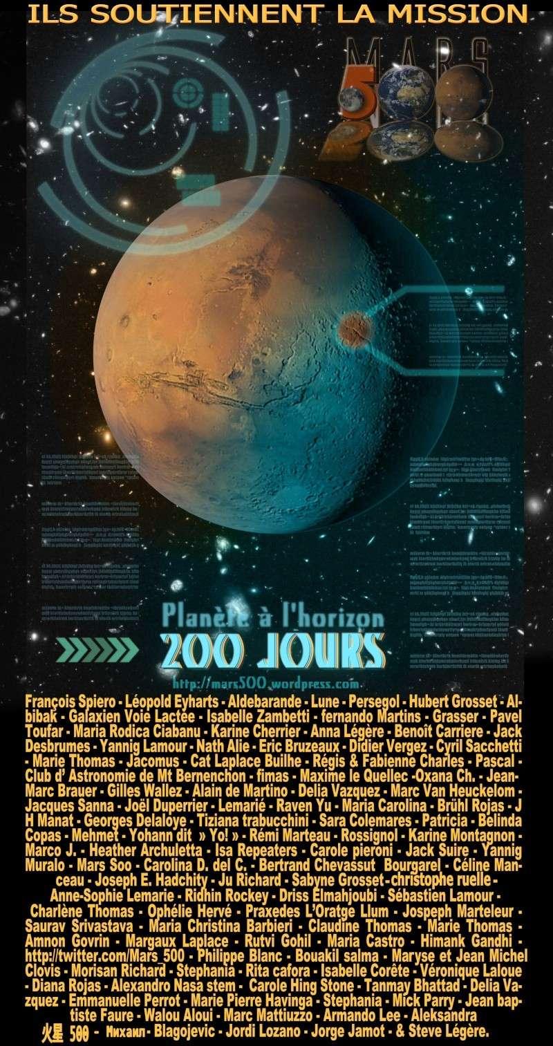 Mars 500 : six voyageurs immobiles vers la Planète rouge Def-2010