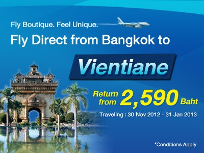 Nok Air + Bangkok Airways =  Bangkok (Thailande) - Ventiane (Laos) 60225_10