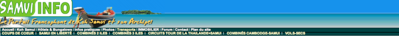 Tout savoir sur Samui, Koh Phangan, Koh Tao  Screen11