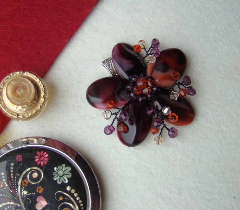 """""""Flori de piatră-Bijoux"""" albumul I-bijuterii artizanale marca Didina Sava - Pagina 3 Colier30"""
