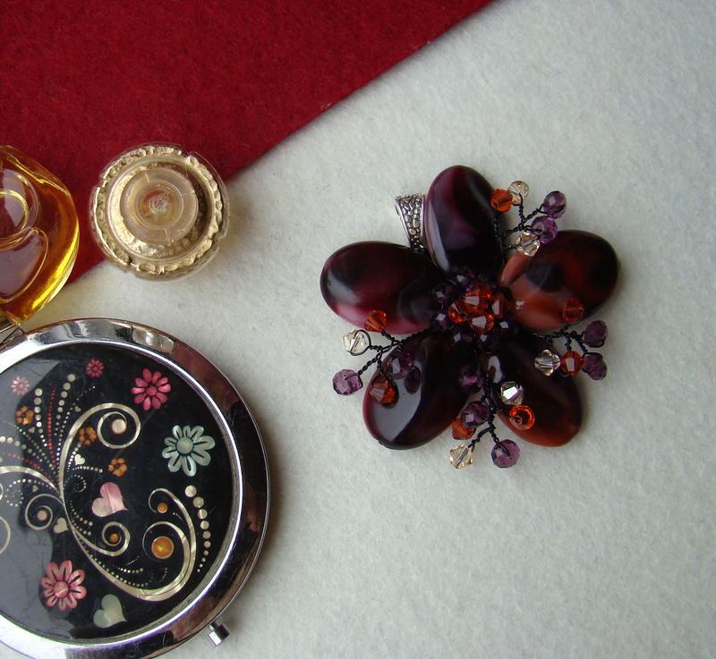 """""""Flori de piatră-Bijoux"""" albumul I-bijuterii artizanale marca Didina Sava - Pagina 3 Colier31"""
