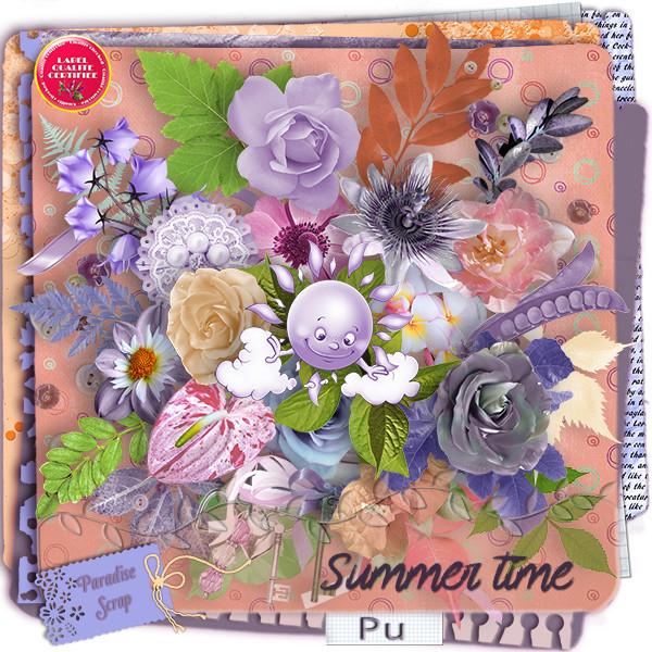 Collab collectif annuel 2016 Paradise Scrap - SUMMER TIME - sortie dès que possible Summer10