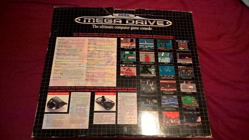 Estimation Collection Mega Drive jeux et console  14113810
