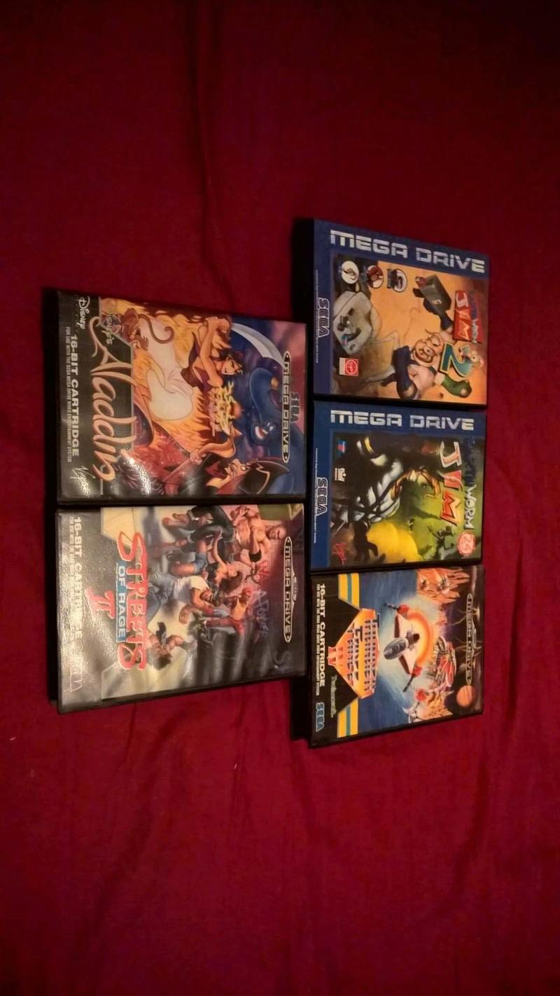 Estimation Collection Mega Drive jeux et console  14113910