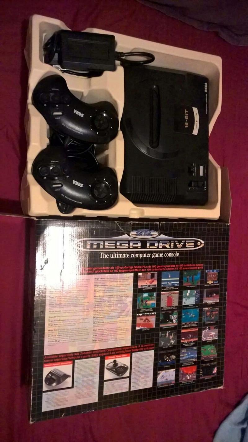 Estimation Collection Mega Drive jeux et console  14114110