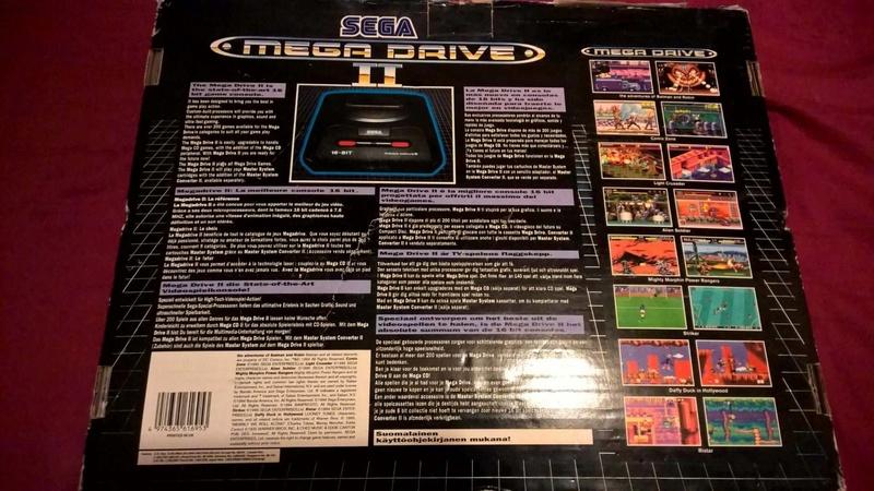 Estimation Collection Mega Drive jeux et console  14123410