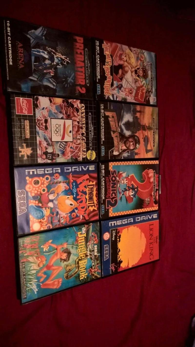 Estimation Collection Mega Drive jeux et console  14123511