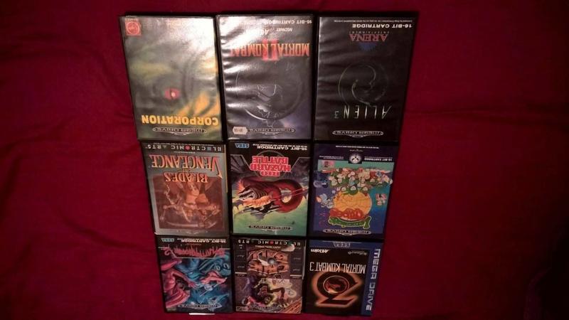 Estimation Collection Mega Drive jeux et console  14138910