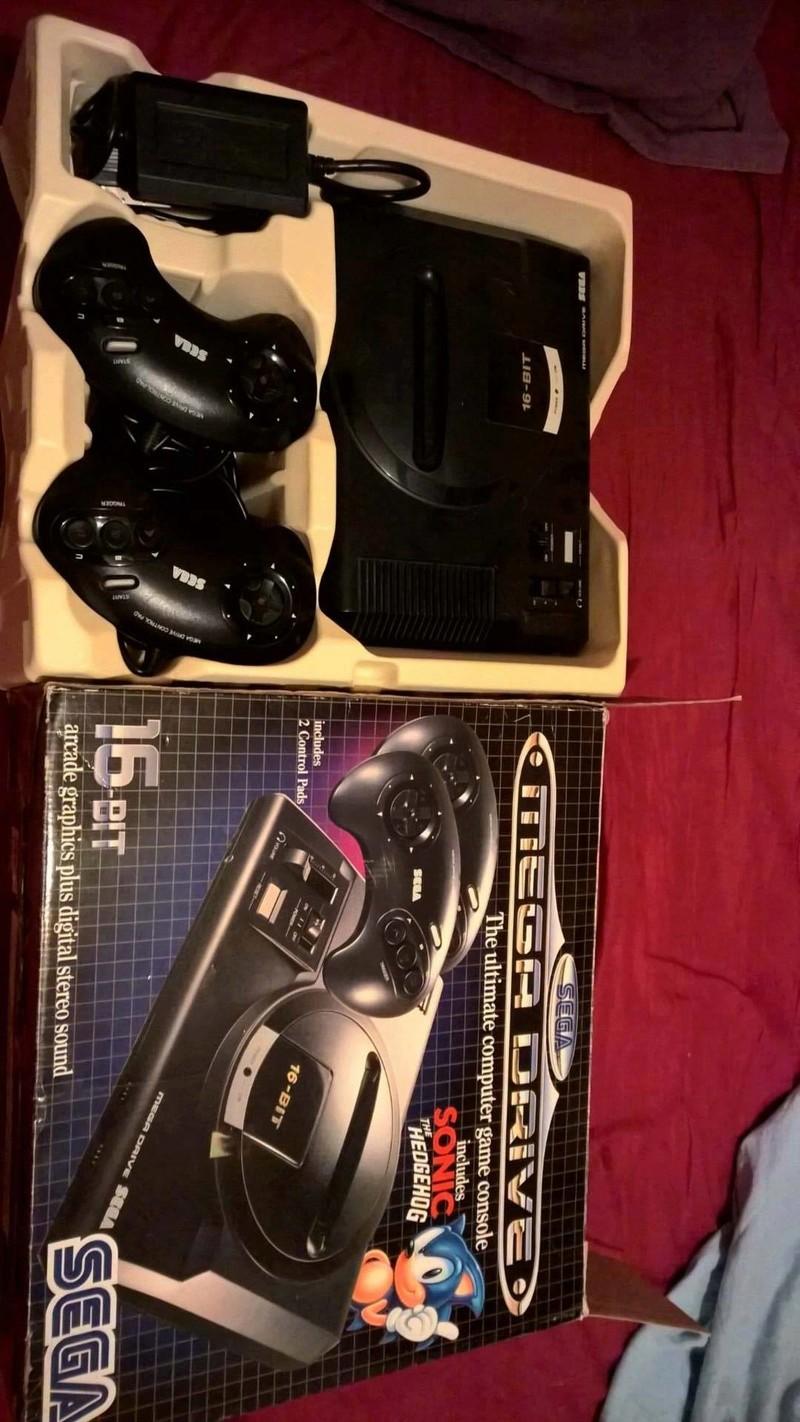 Estimation Collection Mega Drive jeux et console  14139010