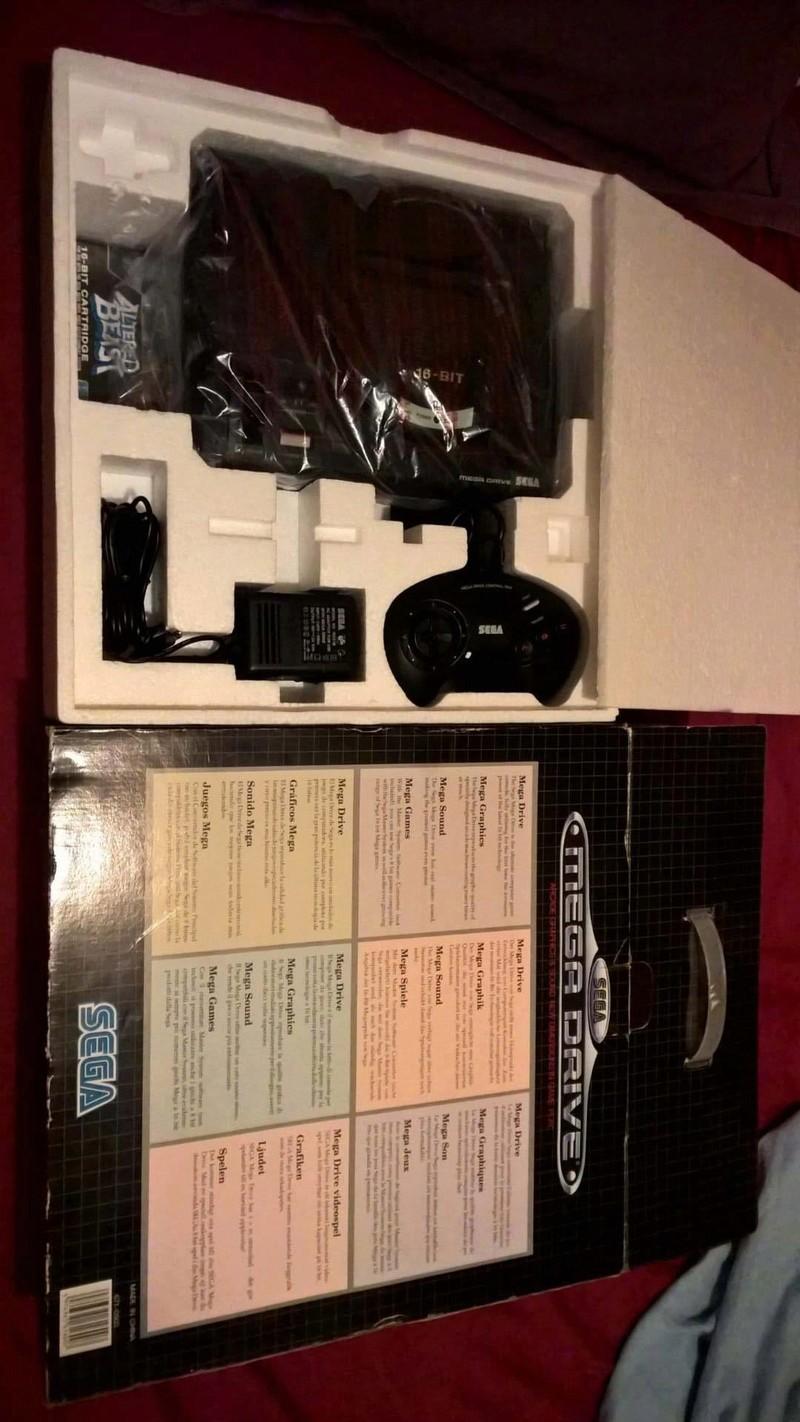 Estimation Collection Mega Drive jeux et console  14152211