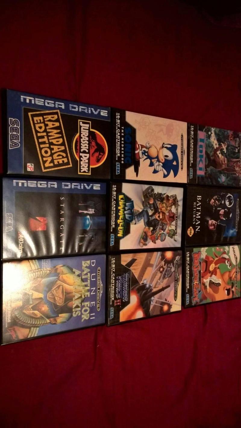 Estimation Collection Mega Drive jeux et console  14163810