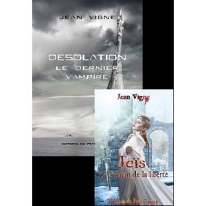 Rencontre avec Jean Vigne l'auteur de Désolation: Le dernier vampire et du roman Jeis aux éditions du Petit Caveau. Jean_v11