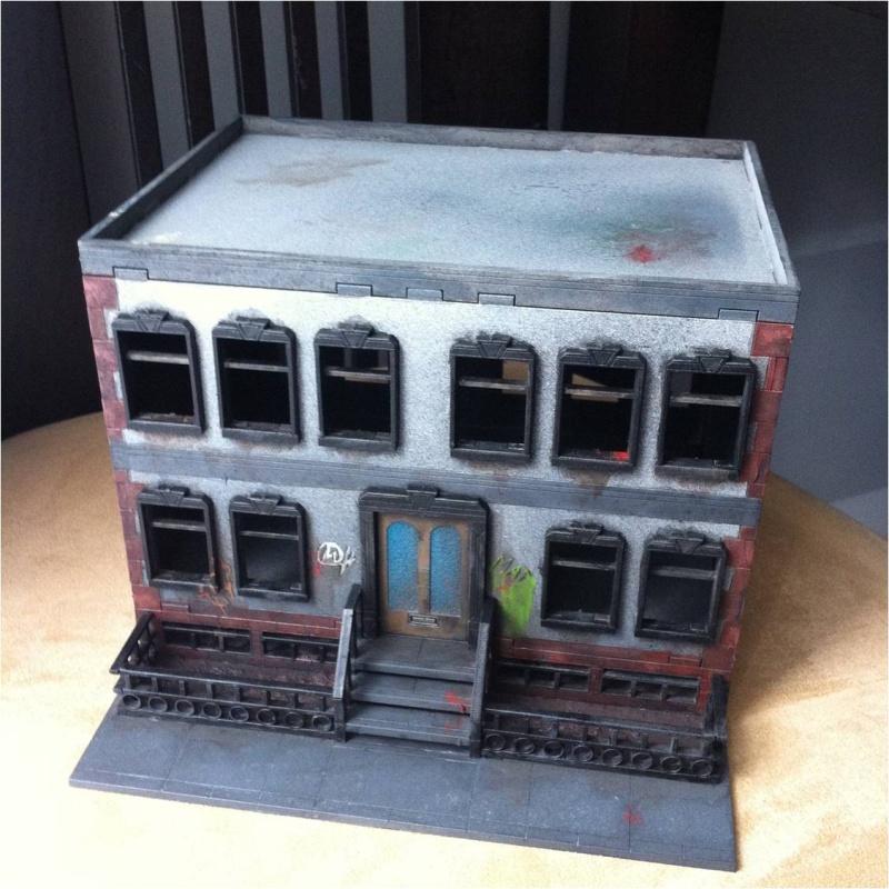 Arkham City made in Grob... Buildi11