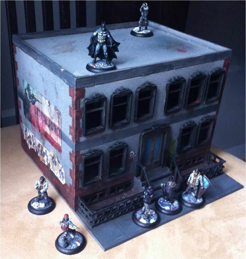 Arkham City made in Grob... Buildi14