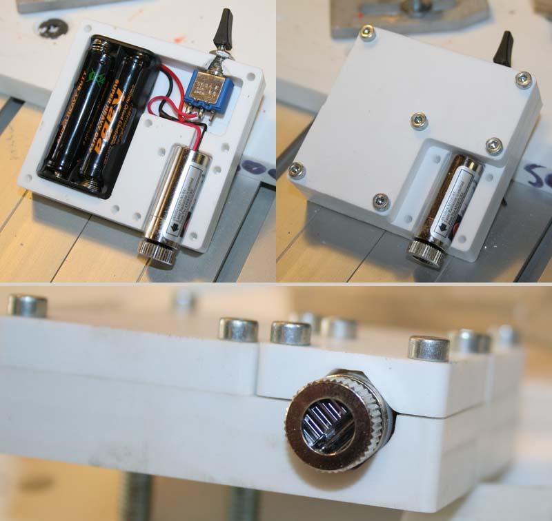 Ajout d'un centreur laser sur BZT PFE500PX Laser_13