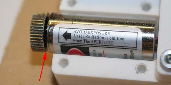 Ajout d'un centreur laser sur BZT PFE500PX Laser_15