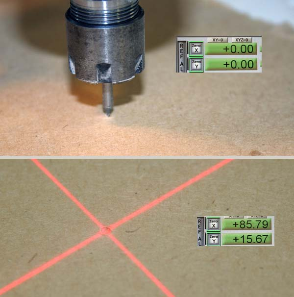 Ajout d'un centreur laser sur BZT PFE500PX Laser_17