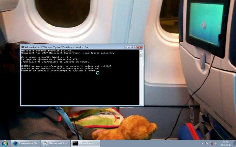 La commande Chkdsk Screen10