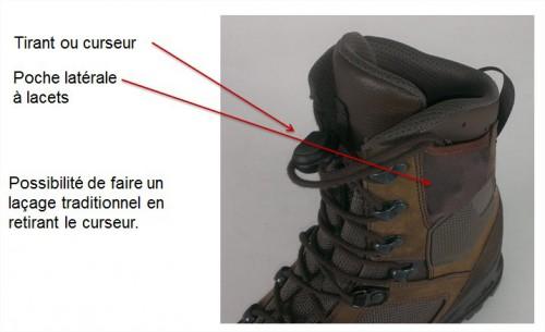 La nouvelle chaussure de combat HAIX SCHUHE 31882310