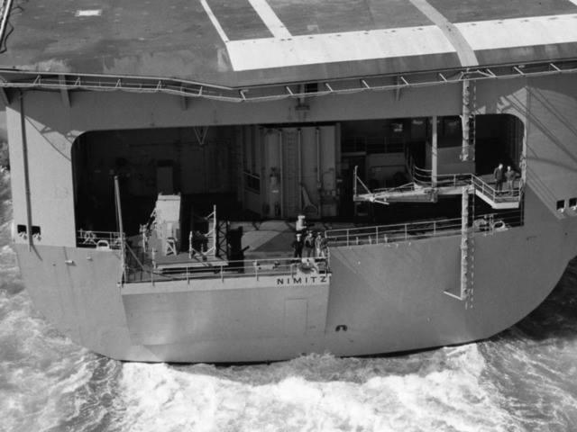 My new project..USS Nimitz CVN 68 1976  - Page 6 13413810