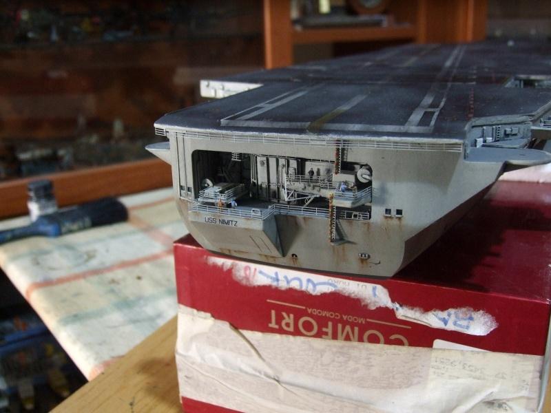 My new project..USS Nimitz CVN 68 1976  - Page 6 Dscf8511
