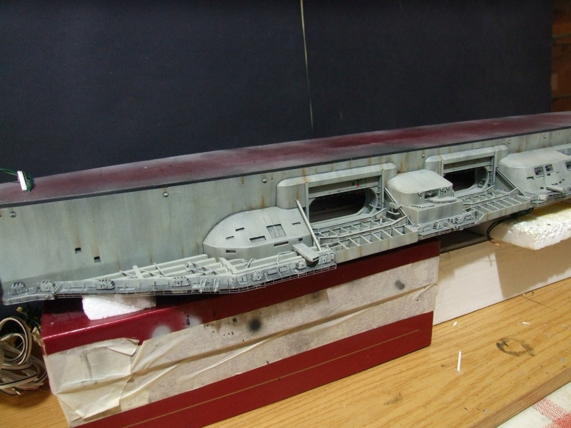 My new project..USS Nimitz CVN 68 1976  - Page 6 Dscf8515