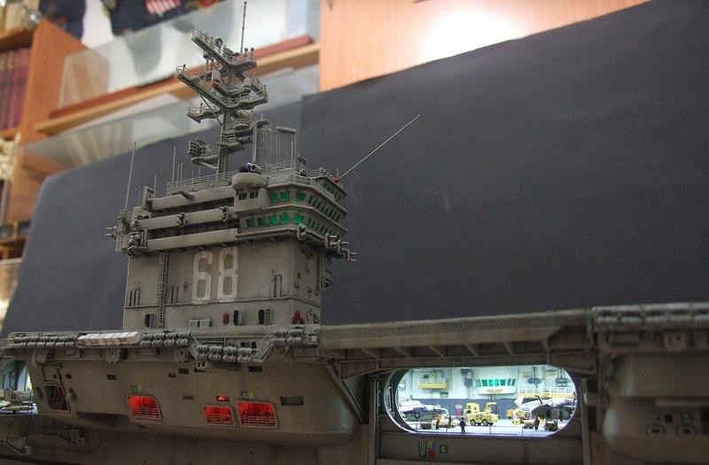 My new project..USS Nimitz CVN 68 1976  - Page 6 Dscf8524