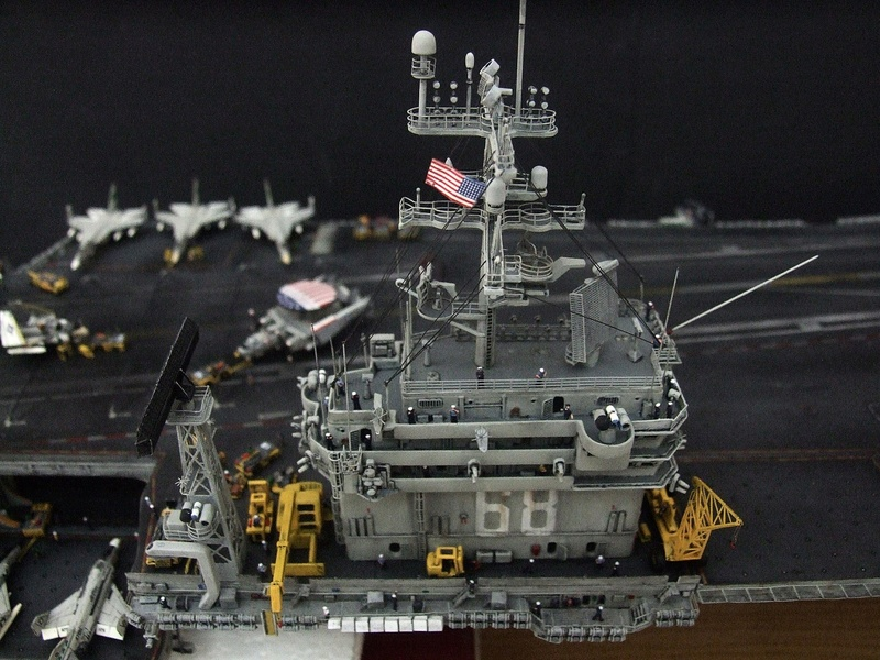 My new project..USS Nimitz CVN 68 1976  - Page 6 Dscf8612