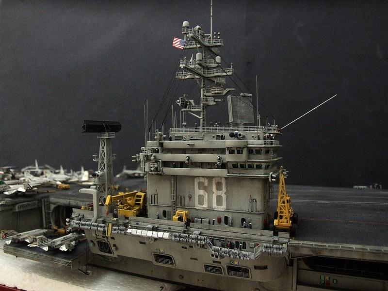 My new project..USS Nimitz CVN 68 1976  - Page 6 Dscf8613