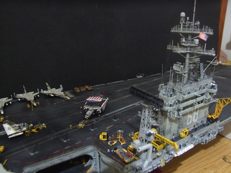My new project..USS Nimitz CVN 68 1976  - Page 6 Dscf8614