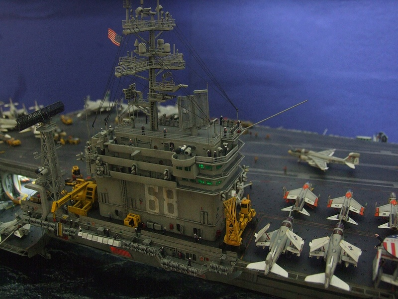 My new project..USS Nimitz CVN 68 1976  - Page 7 Dscf8728