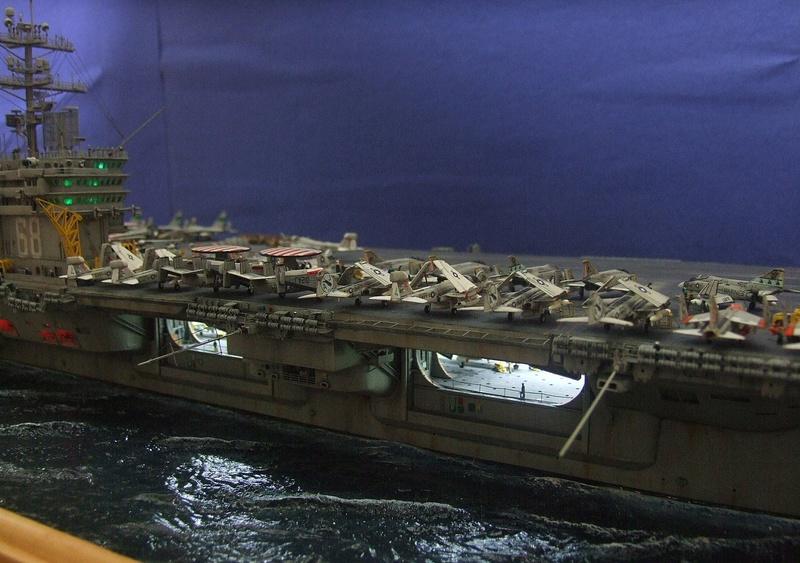 My new project..USS Nimitz CVN 68 1976  - Page 7 Dscf8730