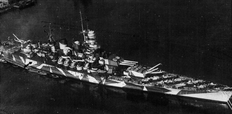 My Next Project Regia Marina WWII Italian Battleship 'Roma' Italia10