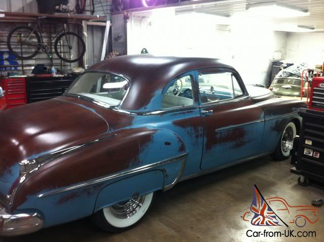 1950 Olds custom (project de vacance) Ebay3110