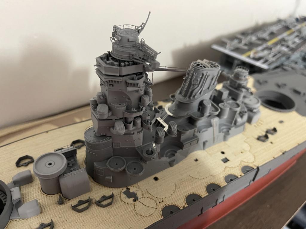 Cuirassé Yamato (Tamiya Premium 1/350°) de Nyms 1b2d2410