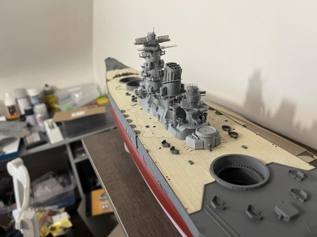 Cuirassé Yamato (Tamiya Premium 1/350°) de Nyms Ab6e7f10