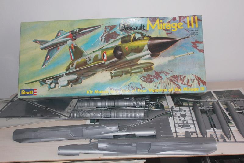 Mirage III E 1/32 revell Img_1851